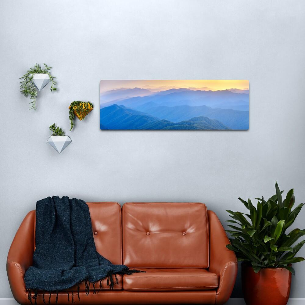 Layered Dawn, New England National Park, New South Wales, Australia Metal Print