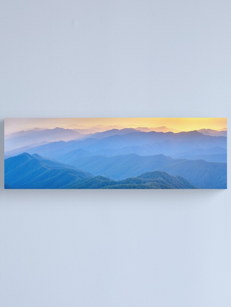 Alternate view of Layered Dawn, New England National Park, New South Wales, Australia Canvas Print