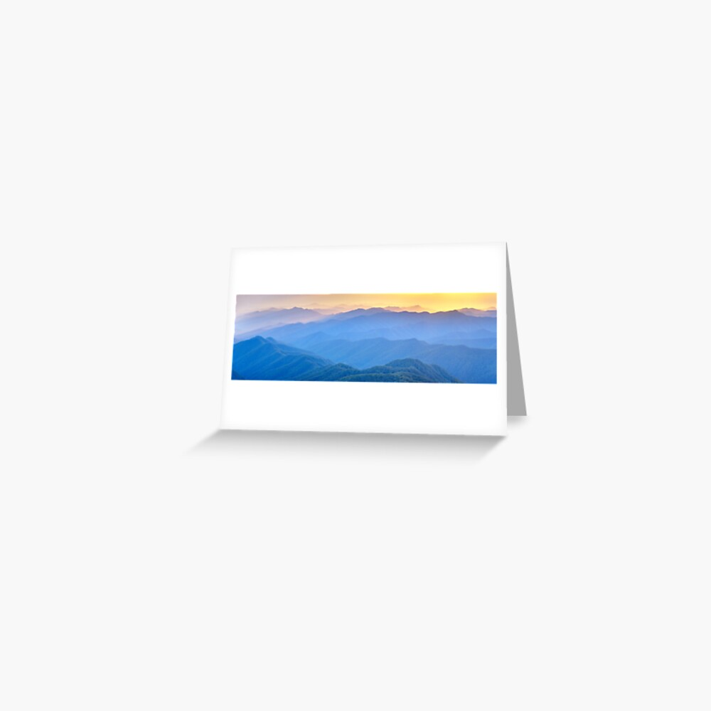 Layered Dawn, New England National Park, New South Wales, Australia Greeting Card