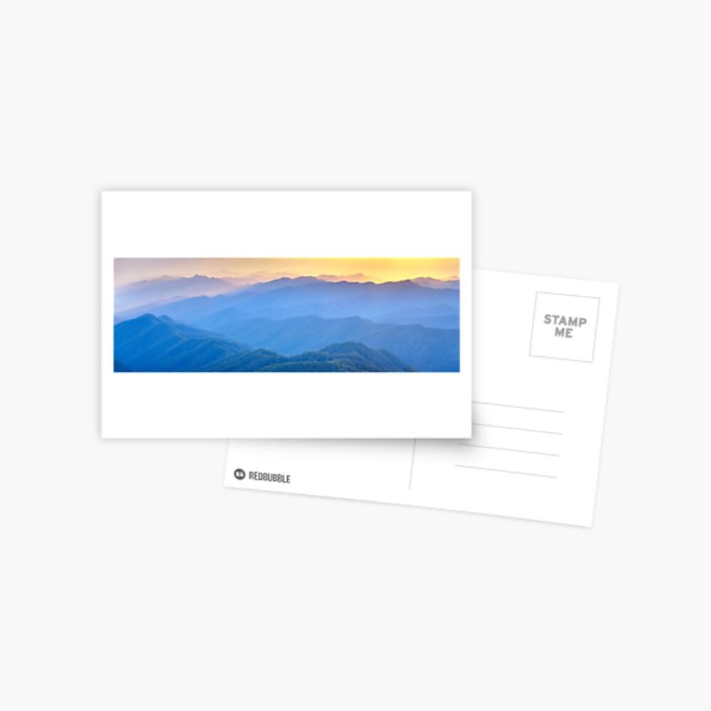 Layered Dawn, New England National Park, New South Wales, Australia Postcard