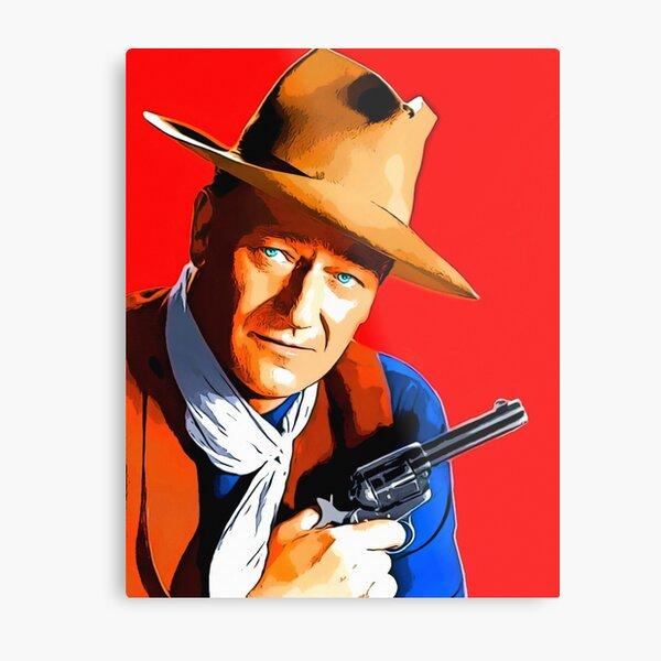 John Wayne in Rio Bravo Metal Print