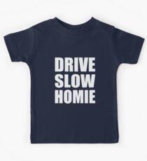 Drive Slow Homie - Kanye West Kids Tee