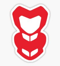 ducati hypermotard red Sticker