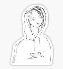 succ gril Sticker