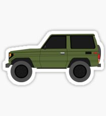 Toyota Land Cruiser BJ70  (machito) (renati.rzdm@gmail.com) Sticker