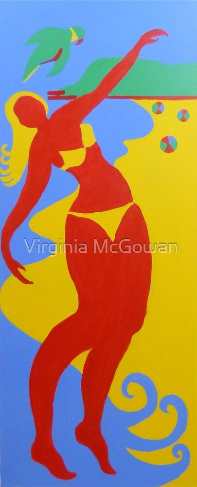 Gold Coast Banner Christmas Holidays 2002 by Virginia McGowan