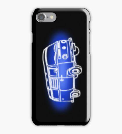 White Bay On Blue iPhone Case/Skin