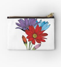 Colorful Daisies  Studio Pouch