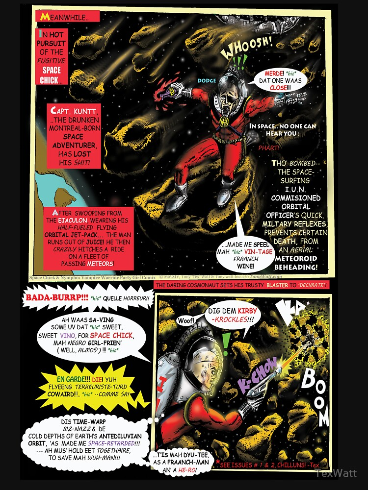 Page # 2 of Tex Watt's  WEEKY (UNCENSORED) SUNDAY COMIX POP-ART by TexWatt