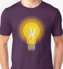 Glowing victory. T-Shirt