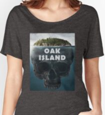 Oak Island Nova Scotia Canada Women's Relaxed Fit T-Shirt