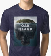 Oak Island Nova Scotia Canada Tri-blend T-Shirt