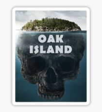 Oak Island Nova Scotia Canada Sticker