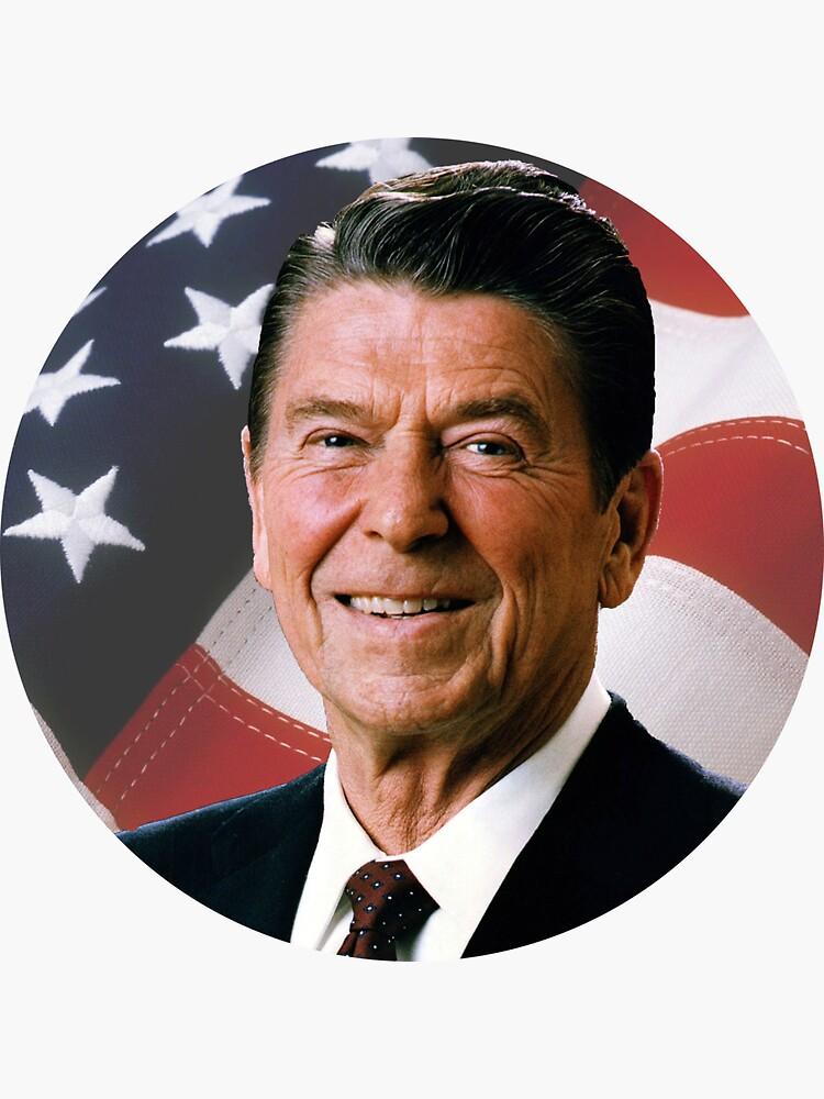 Ronald Reagan by sampainter