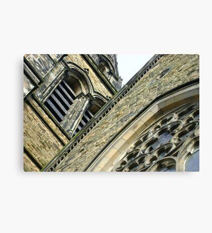 St. Brycedale Church facades Canvas Print