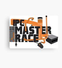 PC MASTER RACE - LOGO Canvas Print