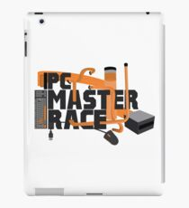 PC MASTER RACE - LOGO iPad Case/Skin