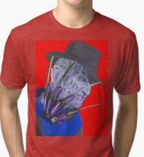 Robert Englund in Nightmare on Elm Street Tri-blend T-Shirt