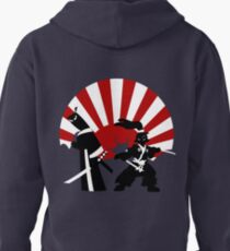 Samurai in the sun Pullover Hoodie