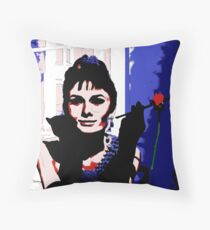 Breakfast at Tiffany's - Audrey Hepburn Throw Pillow