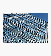 Blue facade Photographic Print