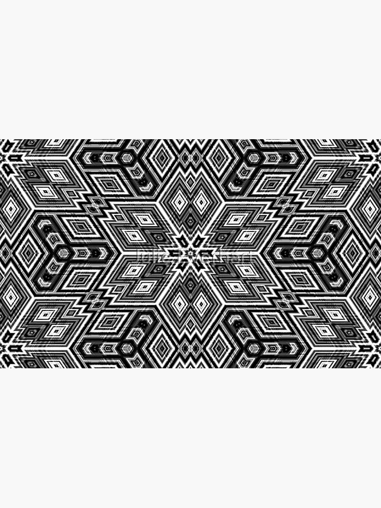 Black and White Cubes by Julie Everhart by julev69
