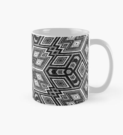Black and White Cubes by Julie Everhart Mug
