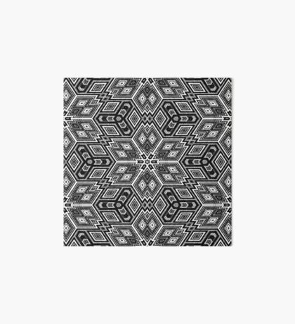 Black and White Cubes by Julie Everhart Art Board Print