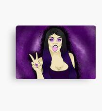 Paige WWE Canvas Print
