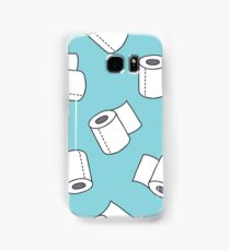 doodle pattern. toilet paper Samsung Galaxy Case/Skin