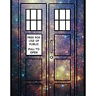 Galaxy TARDIS by peerrrrii