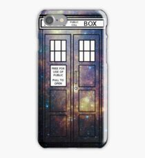 Galaxy TARDIS iPhone Case/Skin