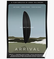 Arrival film poster Poster