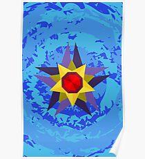 Geometric Starmie  Poster