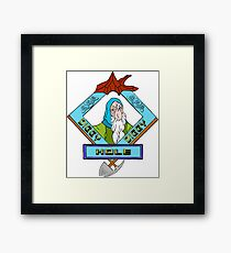 Diggy Diggy Hole on Lonely Mountain Framed Print