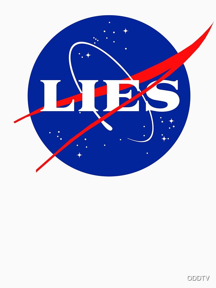 NASA LIES LOGO by ODDTV