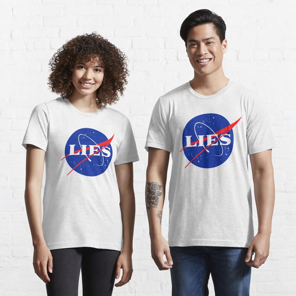 NASA LIES LOGO Essential T-Shirt