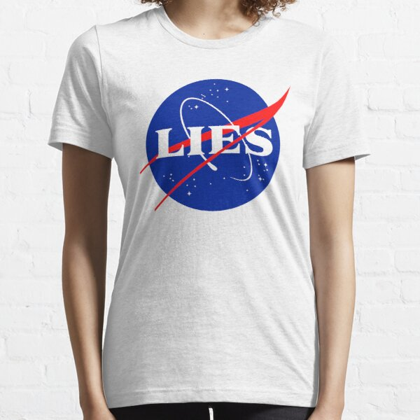 NASA LIES LOGO Essential T-Shirt