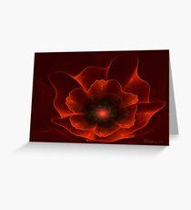 Apo Oriental Poppy Greeting Card