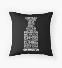 2014 Cup (Dark) Throw Pillow