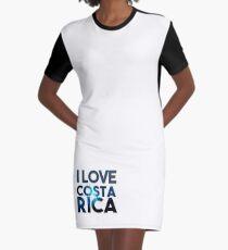 Costa Rica Graphic T-Shirt Dress