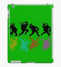 Heroes in a half tone iPad Case/Skin