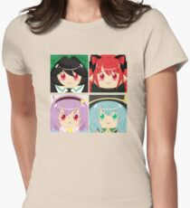 Subterranean Animism Womens Fitted T-Shirt