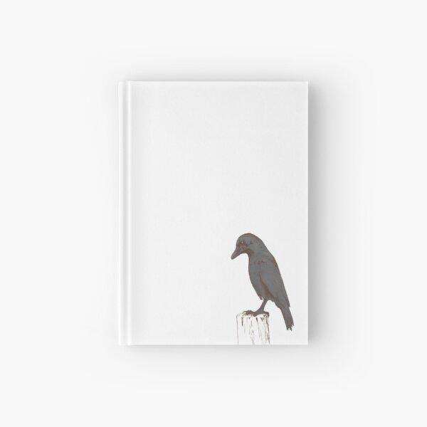 """Transcendence"" Crow Hardcover Journal"