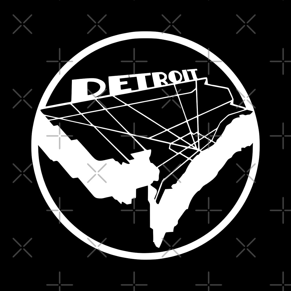 Detroit Map by thedline
