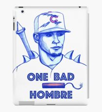 Javier Baez: One Bad Hombre iPad Case/Skin