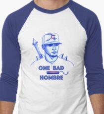 Javier Baez: One Bad Hombre Men's Baseball ¾ T-Shirt