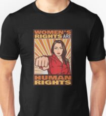 Women's Rights Are Human Rights Unisex T-Shirt