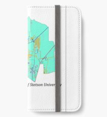 DeLand, Florida Turquoise iPhone Wallet/Case/Skin