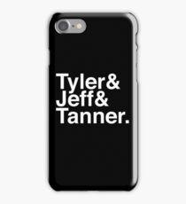 Tyler & Jeff & Tanner iPhone Case/Skin